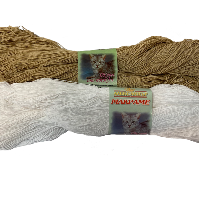 Прежда Макраме чиле Александър мерсеризиран памук