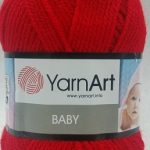 Ярн Арт Бебе 50гр. - Yarn Art Baby 50 gr - За мартенички - 156