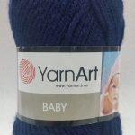 Ярн Арт Бебе 50гр. - Yarn Art Baby 50 gr - За мартенички - 583