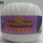 Албена - Albena Nm 50/6 качествено Румънско памучно тире Промо - 202