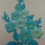 Апликации за дрехи цветя - Applications for clothing flowers - 2
