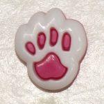 Детски копчета Лапичка - Children buttons Paw - 1