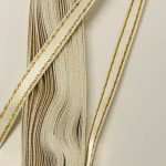 Сатенирани Ленти - 1 см/ 10 м ролка - Satin ribbons - 1 cm / 10 m roll - 790-z