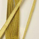 Сатенирани Ленти - 1 см/ 10 м ролка - Satin ribbons - 1 cm / 10 m roll - %d0%b7%d0%bb%d0%b0%d1%82%d0%be