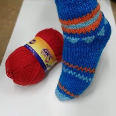 АКЪШ - Здрава Прежда за Чорапи,Терлици,Елеци- AKIS