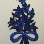 Апликации за дрехи цветя - Applications for clothing flowers - 24