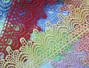 Дантела Цветна 1259 – Flower Lace 1259