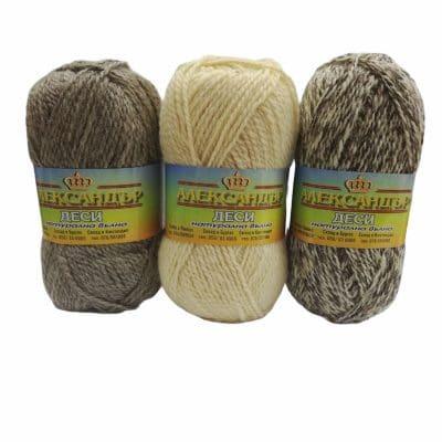 Деси – Натурална вълна за чорапи, елеци, пуловери – Вълната на баба – Desi