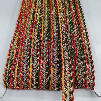 Гайтан многоцветен за декорация на народна носия - Gaitan multicolored for folk costume decoration