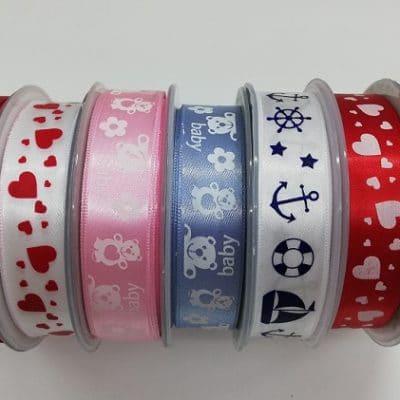 Сатенирана лента за декорация 2 см - Satin ribbon for decoration 2 cm