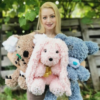 Прежда Ализе Пуфи Фър – Ефектна Прежда за Шал и Шапка,Блузи,Плетени играчки – Alize Puffy Fur