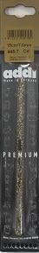 Пластмасова кука с брокат Адди №7-№8 код 445-7 - Plastic hook with brocade Addi №7-№8 code-445-7 - %e2%84%967