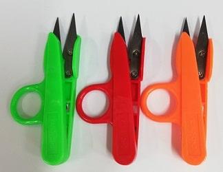 Ножички кръцки с пластмасова дръжка