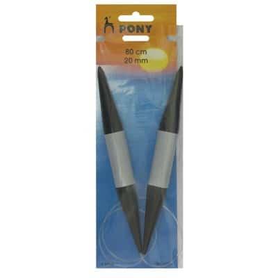 PONY Обръч за плетене с корда 80 см. №20