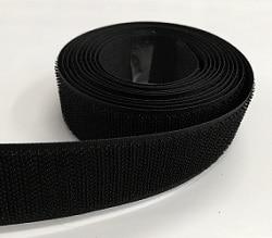 Велкро черно 3 см - за якета, чанти