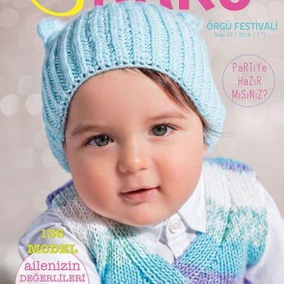 Списание на Нако-136 Детски модела-Nako Magazine
