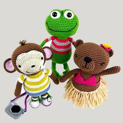 Плетени играчки (амигуруми)