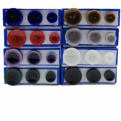 Дамски кръгли копчета Саманта