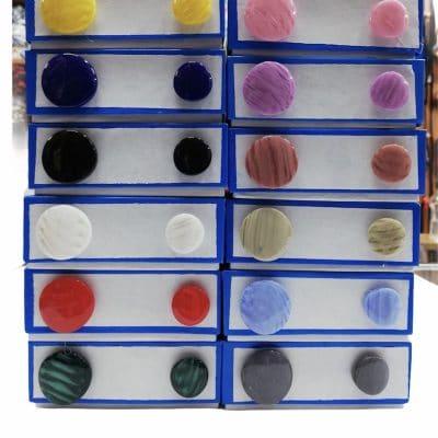 Дамски кръгли копчета Лили