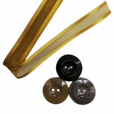 Дамски копчета с диаметър 3,78 см.-Сиви,Бежови и Черни