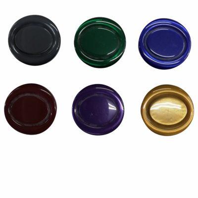 Дамски кръгли копчета Лариса с диаметър 2.73 см.-големи