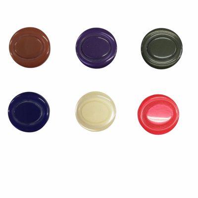Дамски кръгли копчета Лариса с диаметър 1.6 см.-малки