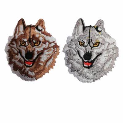 Апликация за дрехи и декорация-Вълк