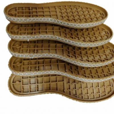 Подметки Еспадрили за летни плетени сандали-Чифт