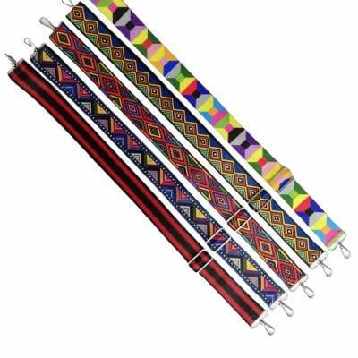 Цветни дръжки за дамски и детски чанти