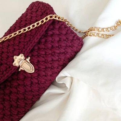 Елегантна метална закопчалка за чанта