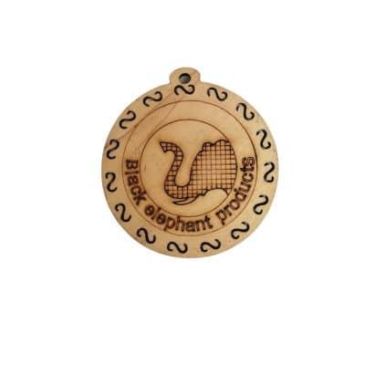 Дървена основа за медальон